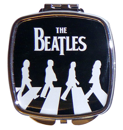Beatles Compact Mirrors Abbey Road Silhouette