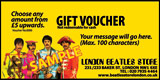 Beatles Gift Voucher